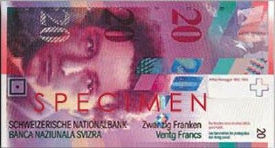 Zwitserse frank
