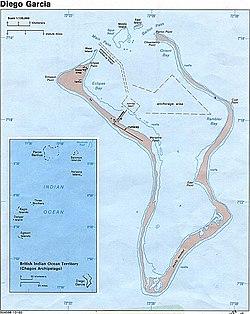 ディエゴ ガルシア 島