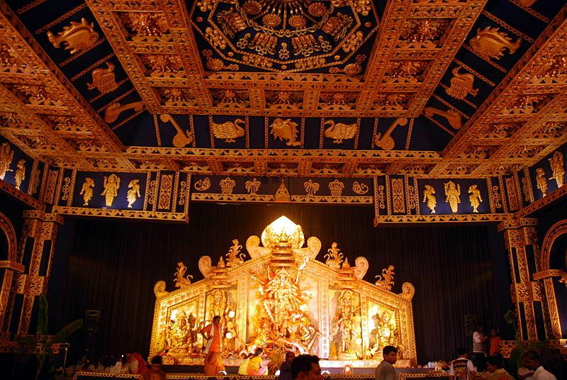 File:CRPark Durga Puja.jpg - Wikimedia Commons