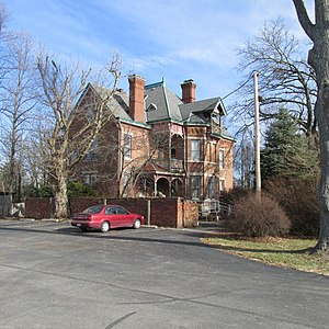 National Register of Historic Places listings in Highland County, Ohio - Image: CS Bell Mansion