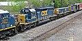 CSX Transportation - 3271, 2426, 1006, & 2443 diesel locomotives (Marion, Ohio, USA) 3 (43174286852).jpg