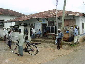 Civic United Front - A CUF party office in Chake Chake, Pemba
