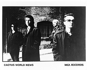 Cactus World News - Cactus World News MCA records Publicity photo