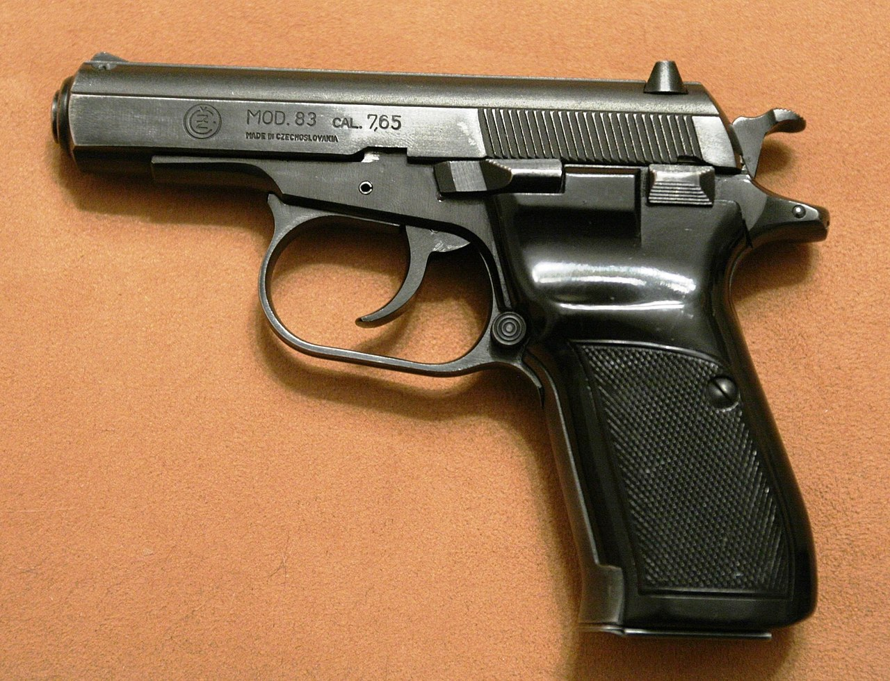 List of pistols