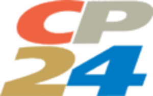 CP24 - Old version of the CP24 logo, used from 1998 to 2003