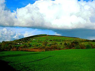 Carn Clonhugh Mountain in Longford, Ireland
