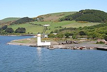 Cairn Point lighthouse viewed from the southwest - geograph.org.uk - 1322649.jpg