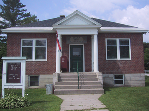 Washington, Vermont - Calef Library in Washington
