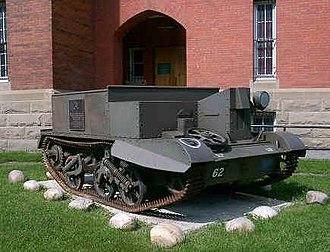 Mewata Armouries - Calgary Highlanders Monument.
