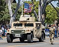 California State Military Reserve Recruiting & Retention soldier marches in a parade (34789384006).jpg