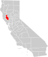 California county map (Lake County highlighted).svg