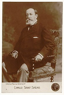 Camille Saint-Saëns French composer