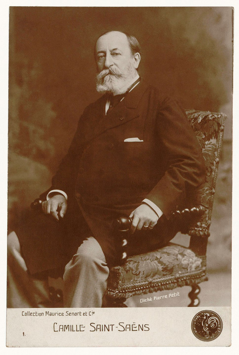 Camille Saint-Sa%C3%ABns in 1900 by Pierre Petit