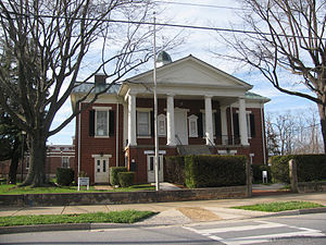 Campbell County, Virginia - Image: Campbell County VA courthouse