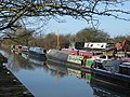 Canal Barges on the Aylesbury Arm at Bates Boatyard - geograph.org.uk - 1207446.jpg
