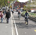 Canal Forsyth Streets bikeway jeh.JPG