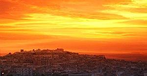Canosa di Puglia - Image: Canosa panorama