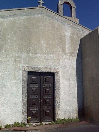 Sanctuary of Peninha - Entrance to the chapel
