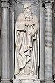 Cappella Montefeltro di Francesco Smeraldi, Sant' Antonio abate Statue d'Alessandro Vittoria.jpg