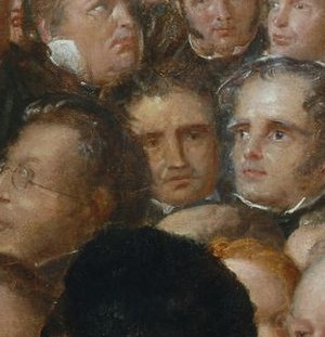 Charles Stuart (abolitionist) - Image: Capt Charles Stuart Between Scalesand Jeremie At The Anti Slavery Society Convention, 1840