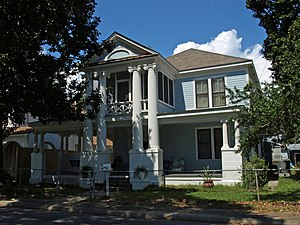 National Register of Historic Places listings in Jackson County, Mississippi - Image: Captain F. L. Clinton House Sept 2012 01