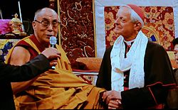 Cardinal HE Donald Wuerl welcomes His Holiness the 14th Dalai Lama.jpg