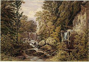 Pocantico River - Image: Carl's Mill, Tarrytown, New York