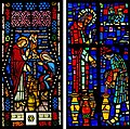Carl Huneke's Miracle at Cana Stained Glass vs. Faceted Glass.jpg