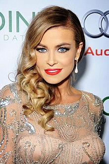 Carmen Electra, Los Angeles, California, September 2013