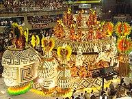 Riói karnevál (február 24-től 28-ig)