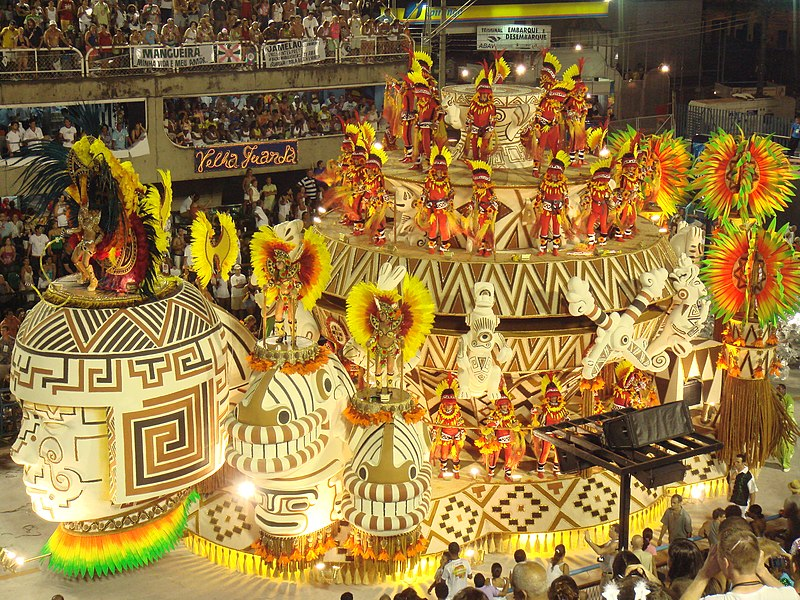see: Carnival in Rio de Janeiro