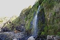 Cascata na costa das Quatro Ribeiras, Costa norte da ilha Terceira, Açores, portugal.JPG