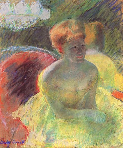 File:Cassatt Mary At the Theater 1879.jpg
