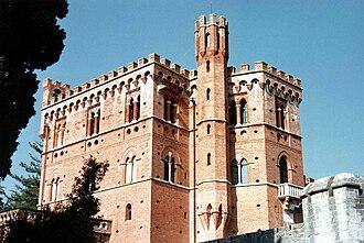 Gaiole in Chianti - Castello di Brolio.