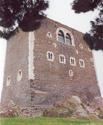 Paternò - The Norman Castle.