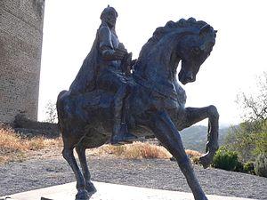 Abu-l-Qasim Ahmad ibn al-Husayn ibn Qasi - Statue of Ibn Qasi in Mértola, Portugal
