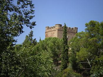 Castillo de Batres, en el pueblo homónimo.