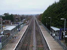 Castle Bar Park stn high northbound.JPG