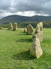 círculo de piedra prehistórico