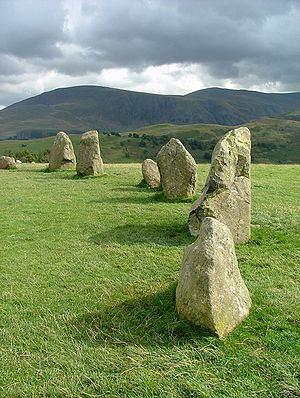 Castlerigg stone circle - Castlerigg Stone Circle, September 2005