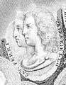 Castrati Baldassarre Ferri y Gaetano Majorano 'Caffariello' en un grabado de Antonio Fedi (ca.1801-1807).jpg