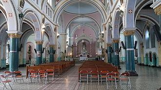 Manta, Cundinamarca - Interior of the San Joaquín church of Manta