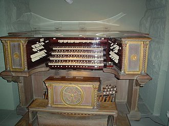 Cathedral Basilica of Saint Louis (St. Louis) - The original Kilgen pipe organ console