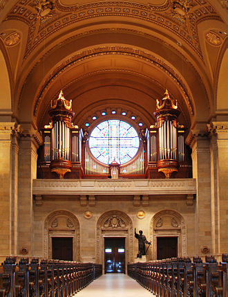 Cathedral of Saint Paul (Minnesota) - May 15, 2013 – Cathedral of Saint Paul Organ Case