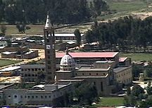 Adigrat-Cityscape-Cathedral of the Holy Saviour, Adigrat