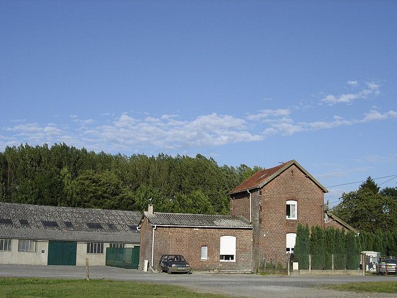 Catillon-sur-Sambre Railway station of the Chemin de Fer du Cambrésis
