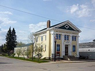 Canadian Bank of Commerce (Watson, Saskatchewan) - Image: Cdn Bank of Commerce Watson Saskatchewan