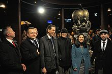 Celebration of the Wikipedia monument in Słubice – unveiling (DerHexer) 20.jpg