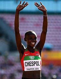 Celliphine Chespol Kenyan athlete