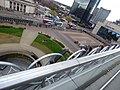 Centenary Square behind barriers (34371726516).jpg